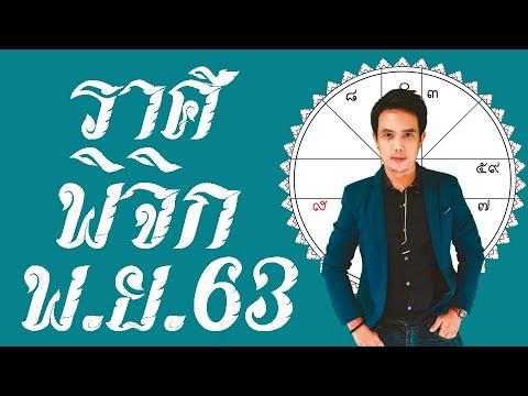 ทำนายดชคลาาภ ดวงราศีพิจิก พฤศจิกายน 2563  ดูดวงโหราศาสตร์ไทย